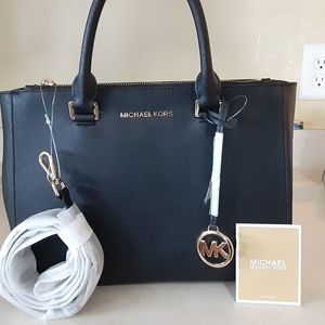 Michael Kors Medium Kellen leather bag